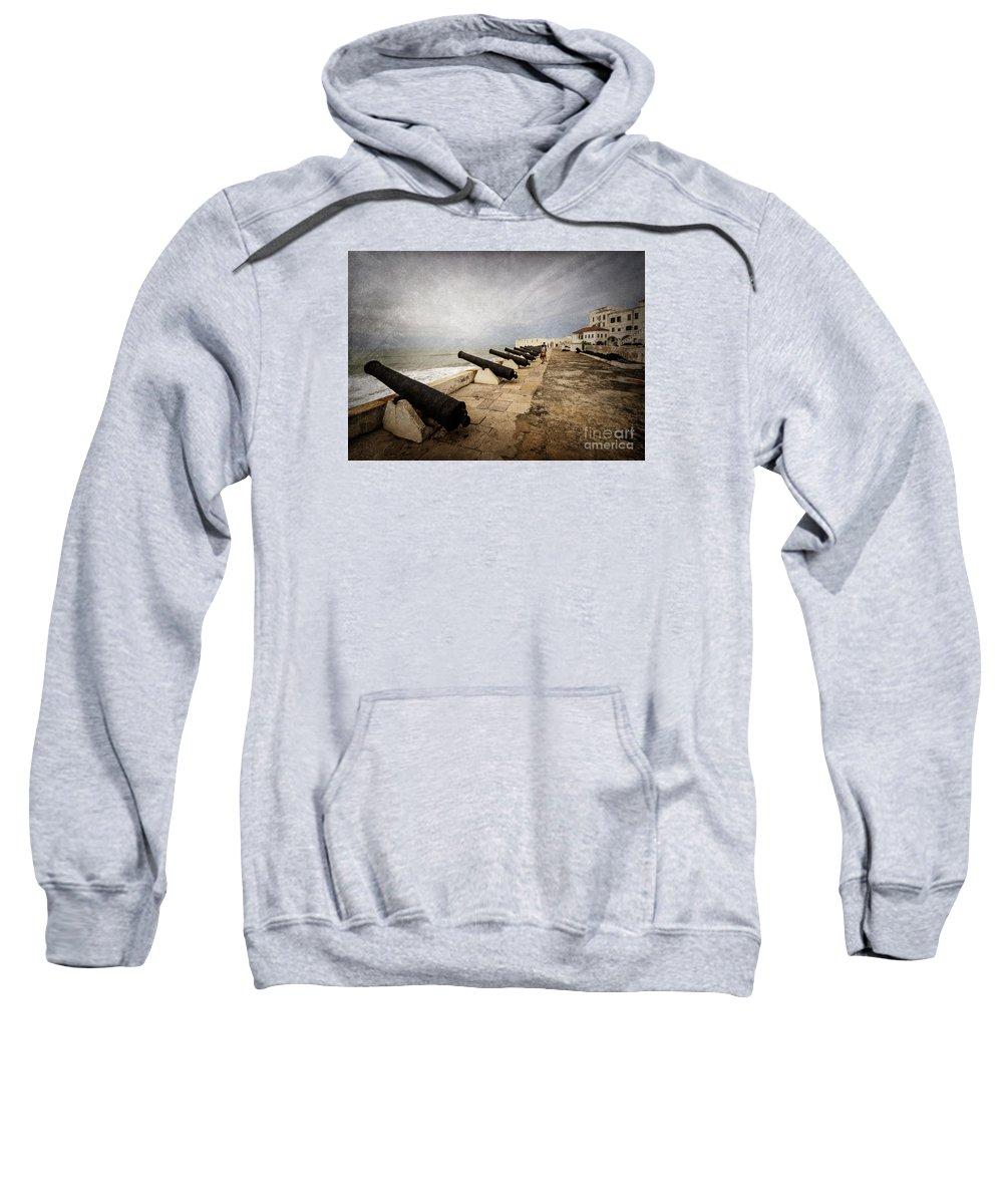 Cape Coast Sweatshirt featuring the photograph Cape Coast Castle by Naoki Takyo