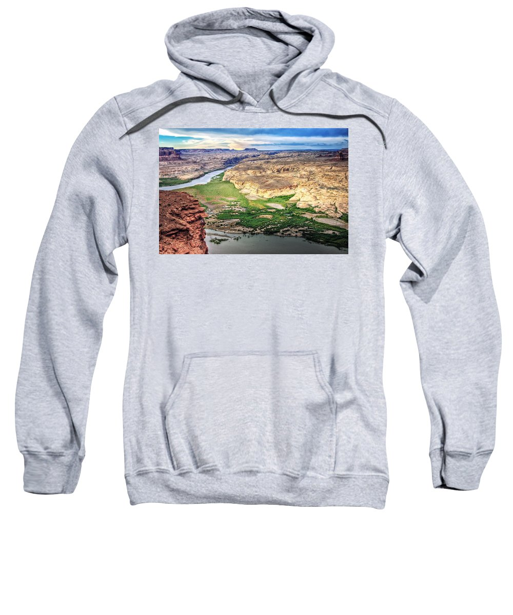 Utah Sweatshirt featuring the photograph Capitol Reef 2 by Ingrid Smith-Johnsen