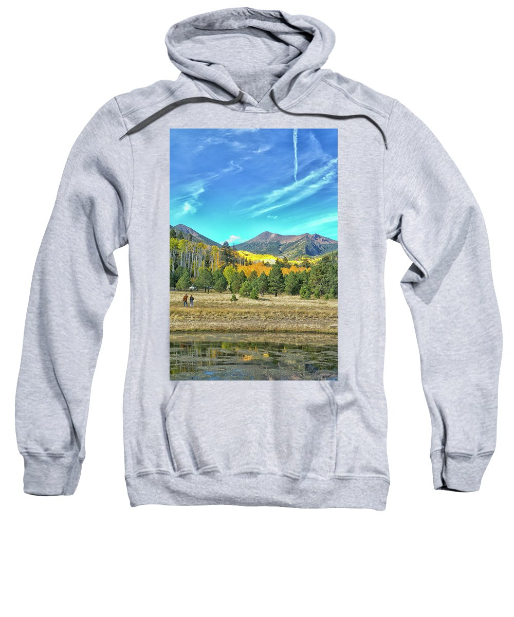 Lockett Meadow Sweatshirt featuring the photograph Captured by Tom Kelly