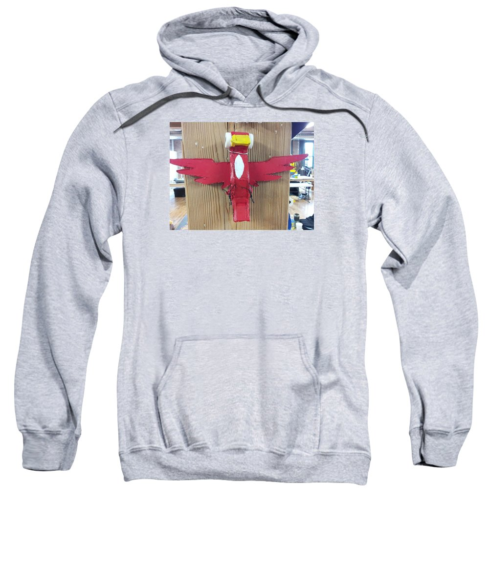 Fowl Wildlife Feathered Sweatshirt featuring the sculpture Cardinal 2 by William Douglas