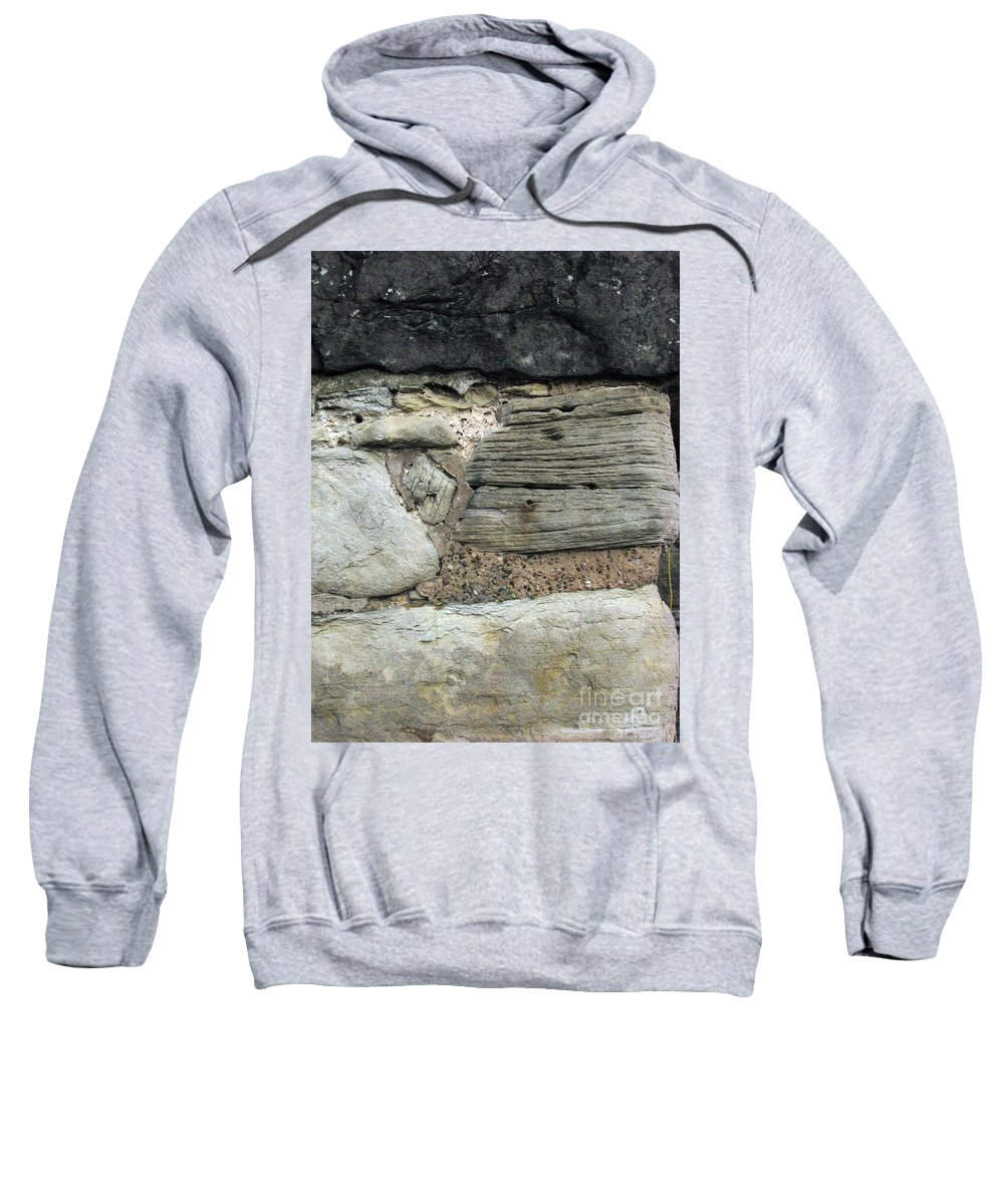 Castle Sweatshirt featuring the photograph Castle Walls by Amanda Barcon