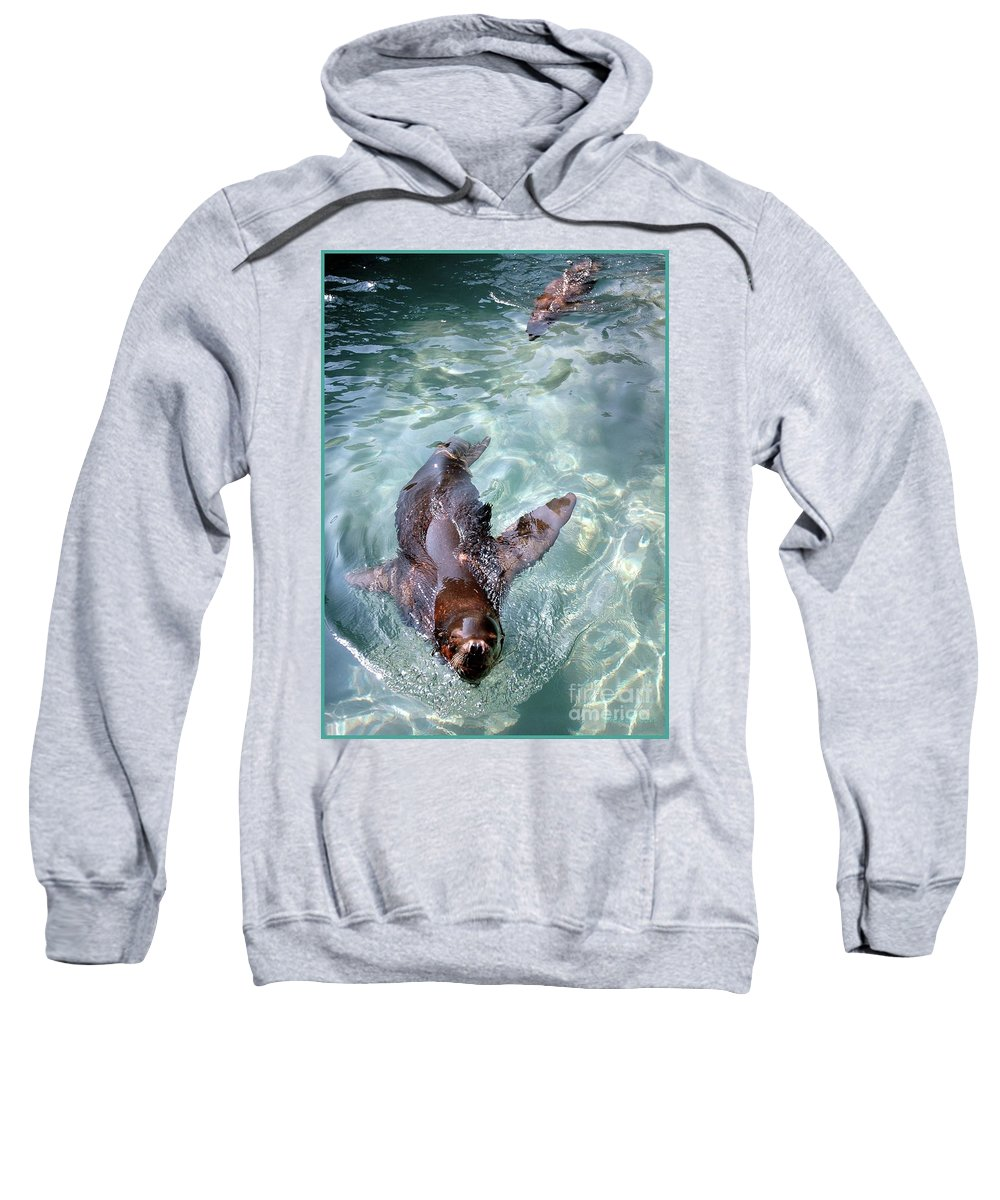 Sea Sweatshirt featuring the photograph Catch Me by Kathleen Struckle