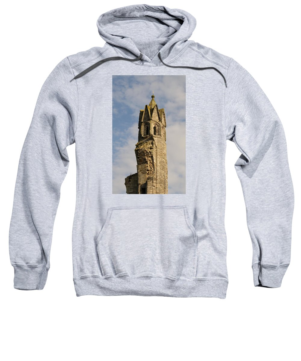 Cathedral Sweatshirt featuring the photograph Cathedral Tower by Adrian Wale