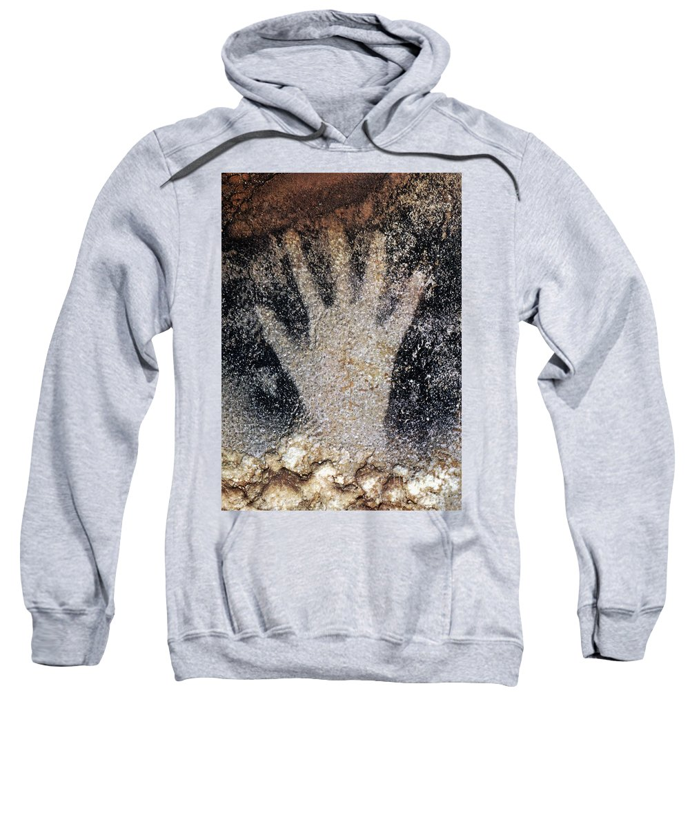 Cave Sweatshirt featuring the photograph Cave Art: Pech Merle by Granger