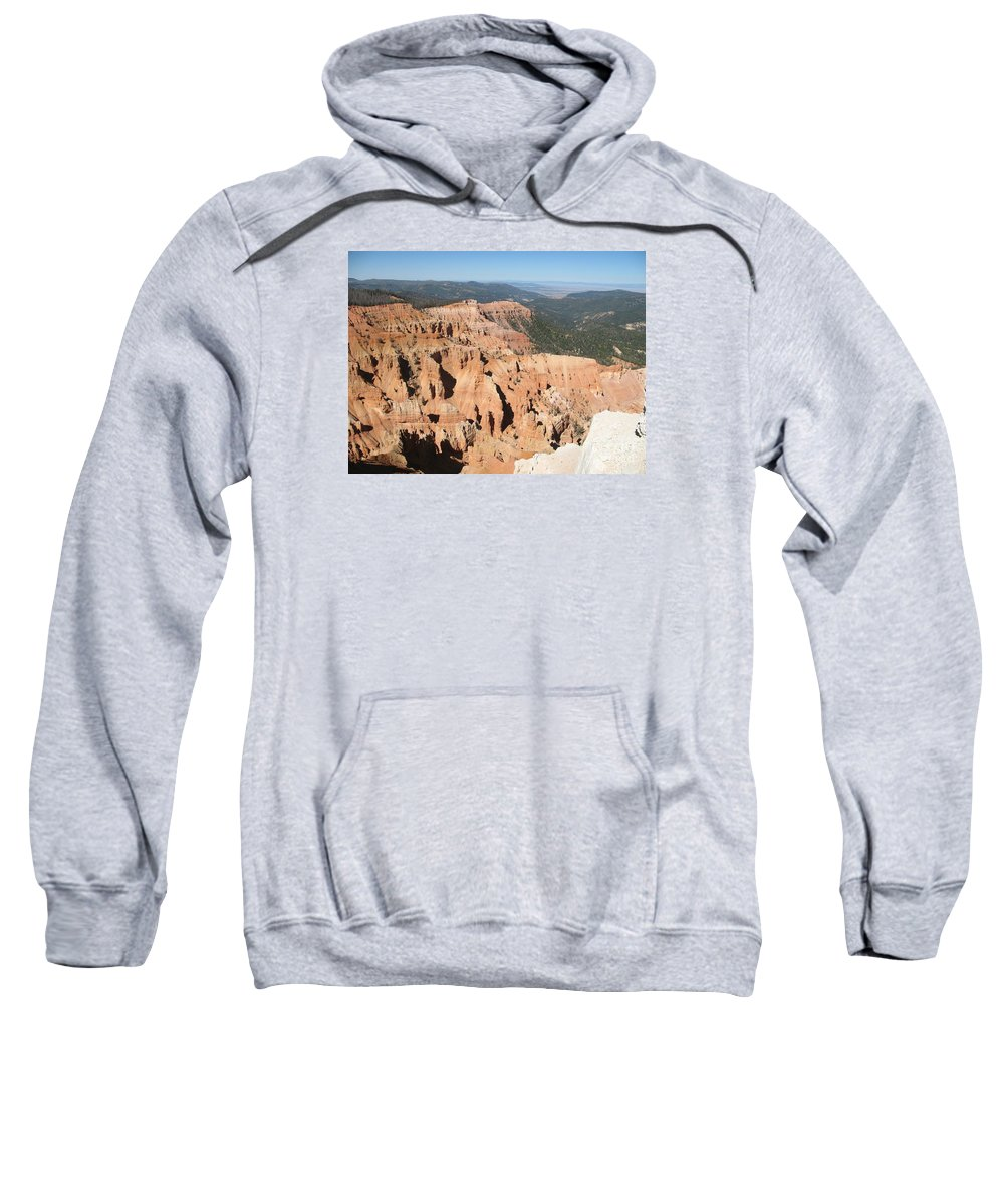 Moutains Sweatshirt featuring the photograph Cedar Breaks I - Utah by Christiane Schulze Art And Photography