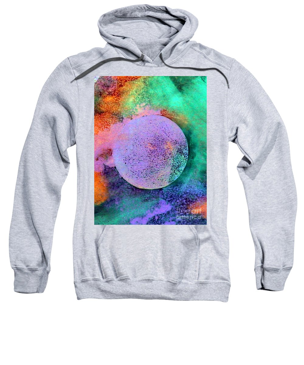 Celebration Sweatshirt featuring the painting Celebration by Dawn Hough Sebaugh