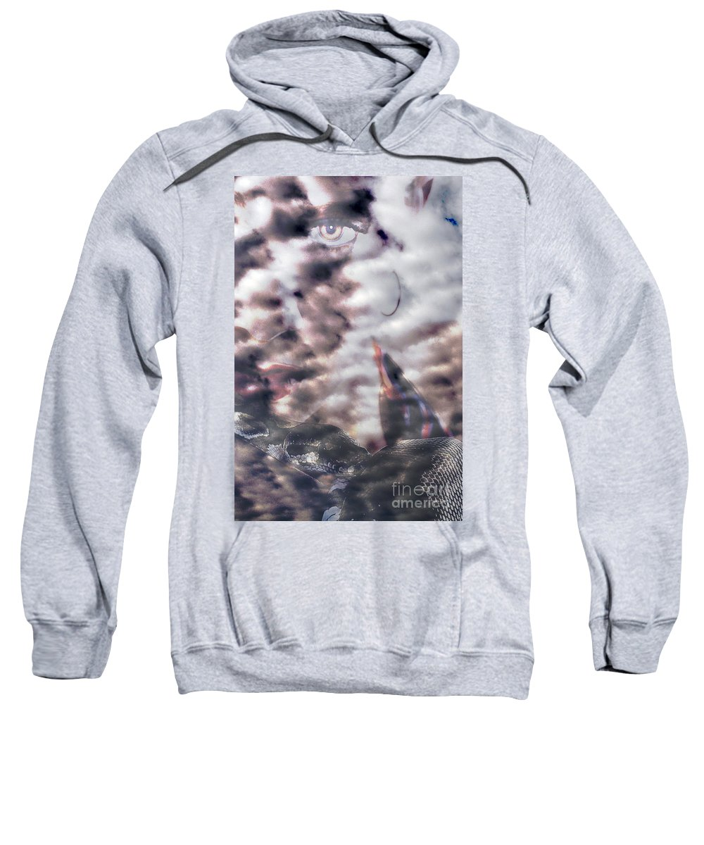 Clay Sweatshirt featuring the photograph Celestial Visions by Clayton Bruster