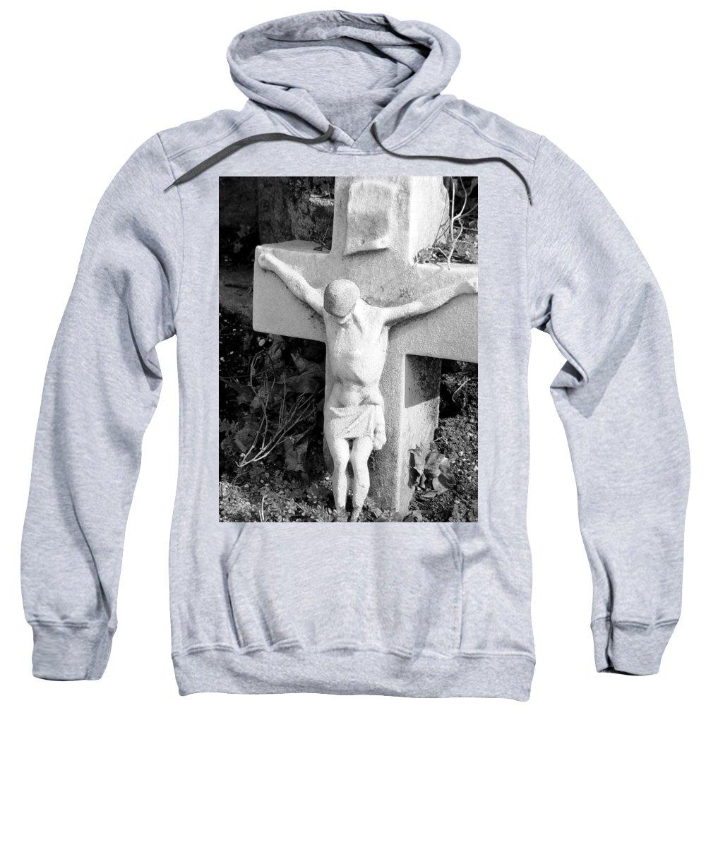 Cemetery Sweatshirt featuring the photograph Cemetery 2 by Anita Burgermeister