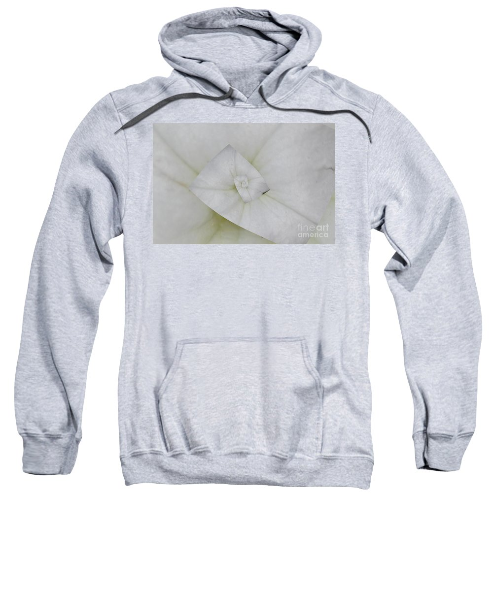 Petunia Sweatshirt featuring the photograph Center Of Attention by Donna Bentley
