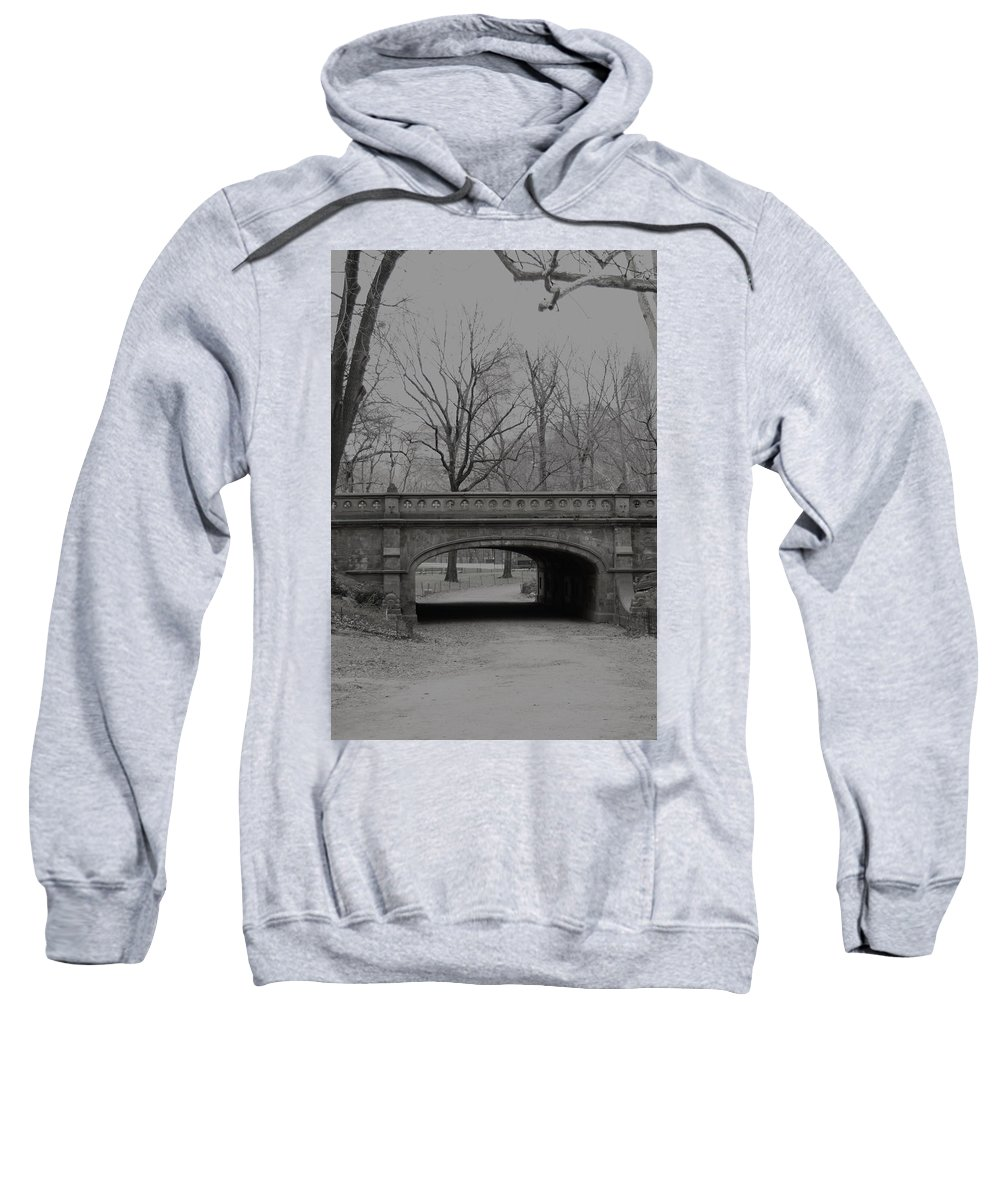 Park Sweatshirt featuring the photograph Central Park Nyc by Henri Irizarri