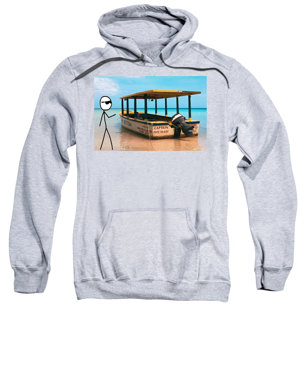 Islands Sweatshirt featuring the photograph CEO by Retro Guy