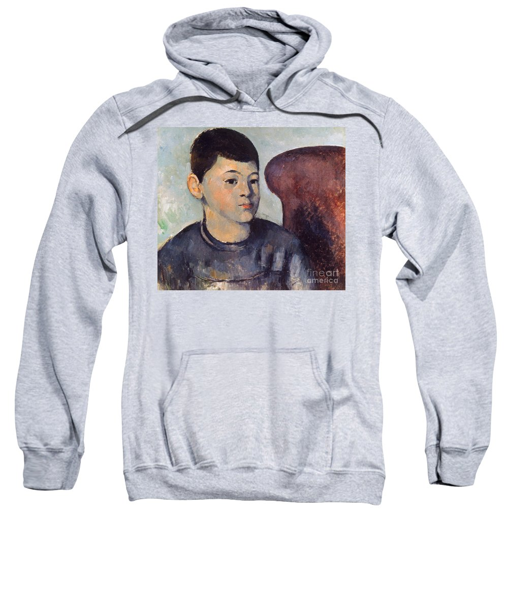 19th Century Sweatshirt featuring the photograph Cezanne: Portrait Of Son by Granger