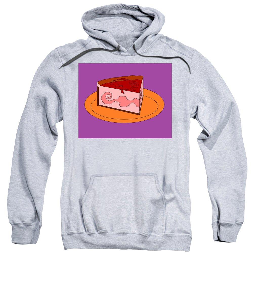 Cheese Cake Sweatshirt featuring the digital art Ch17 by Rita Gehman