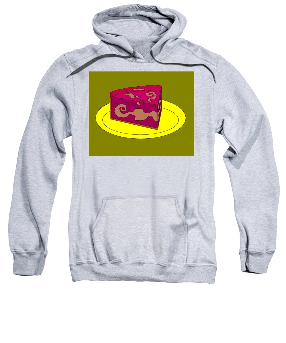 Cheese Cake Sweatshirt featuring the digital art Ch38 by Rita Gehman