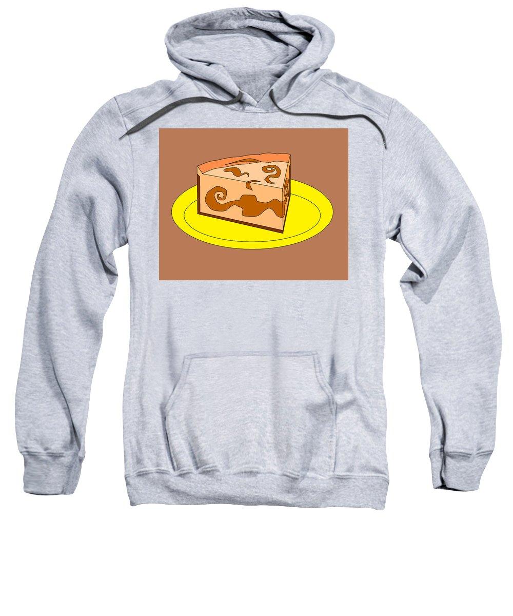 Cheese Cake Sweatshirt featuring the digital art Ch4 by Rita Gehman