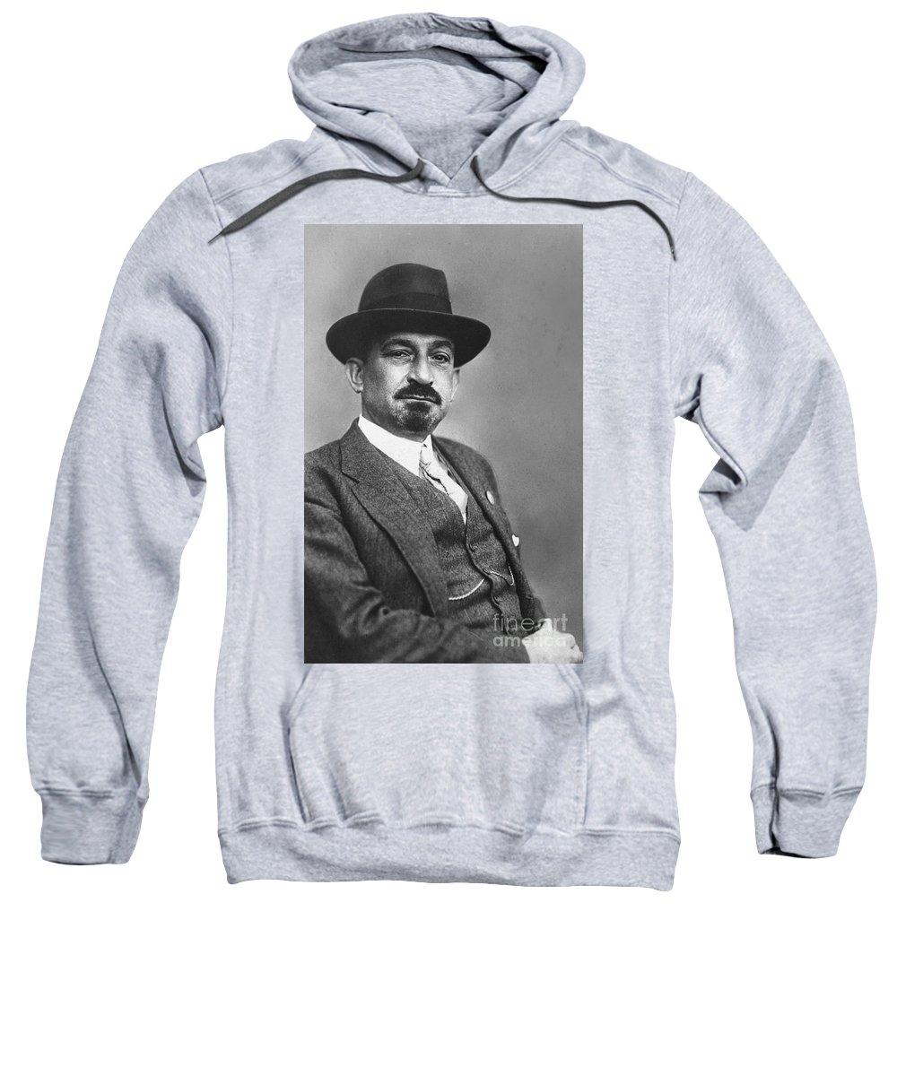 19th Century Sweatshirt featuring the photograph Chaim Weizmann by Granger