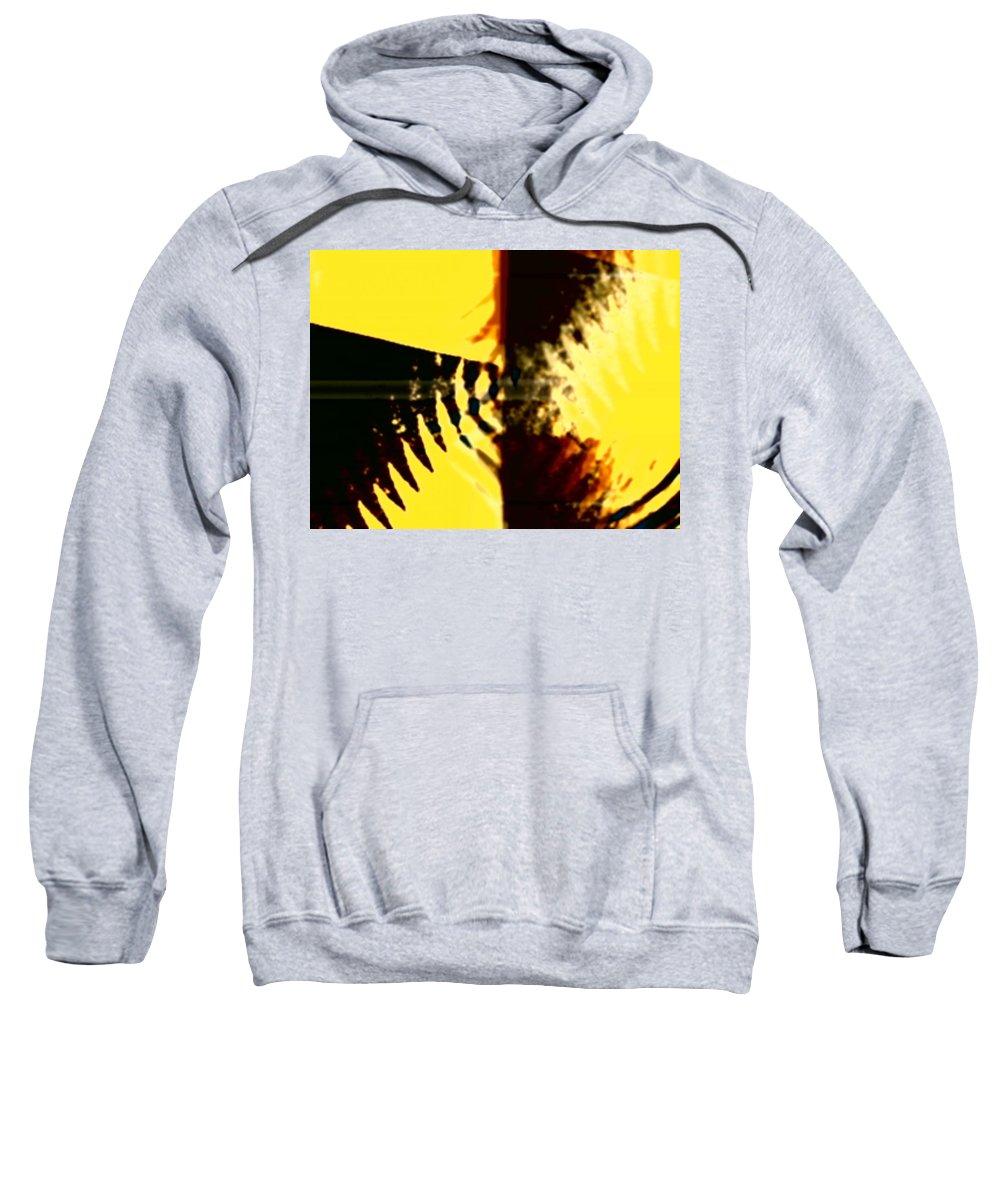 Art Digital Art Sweatshirt featuring the digital art Change - Leaf5 by Alex Porter