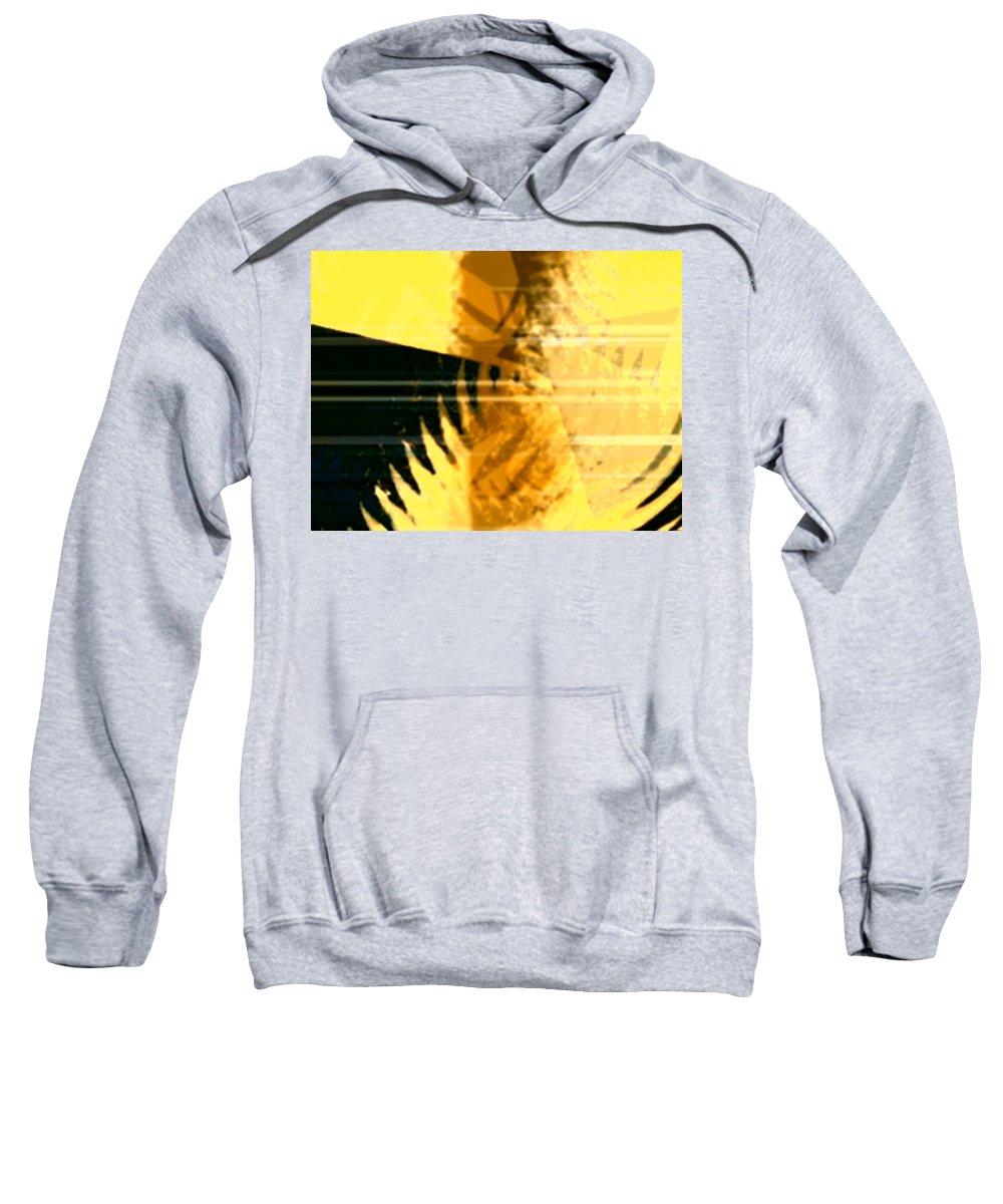 Art Digital Art Sweatshirt featuring the digital art Change - Leaf8 by Alex Porter
