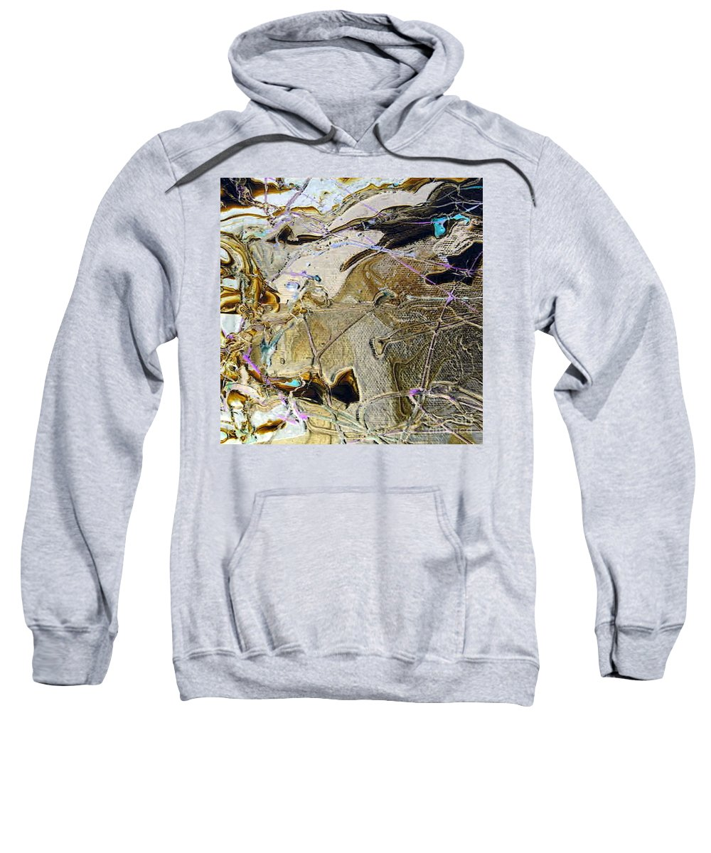 Changes Sweatshirt featuring the painting Changes In Me by Dawn Hough Sebaugh