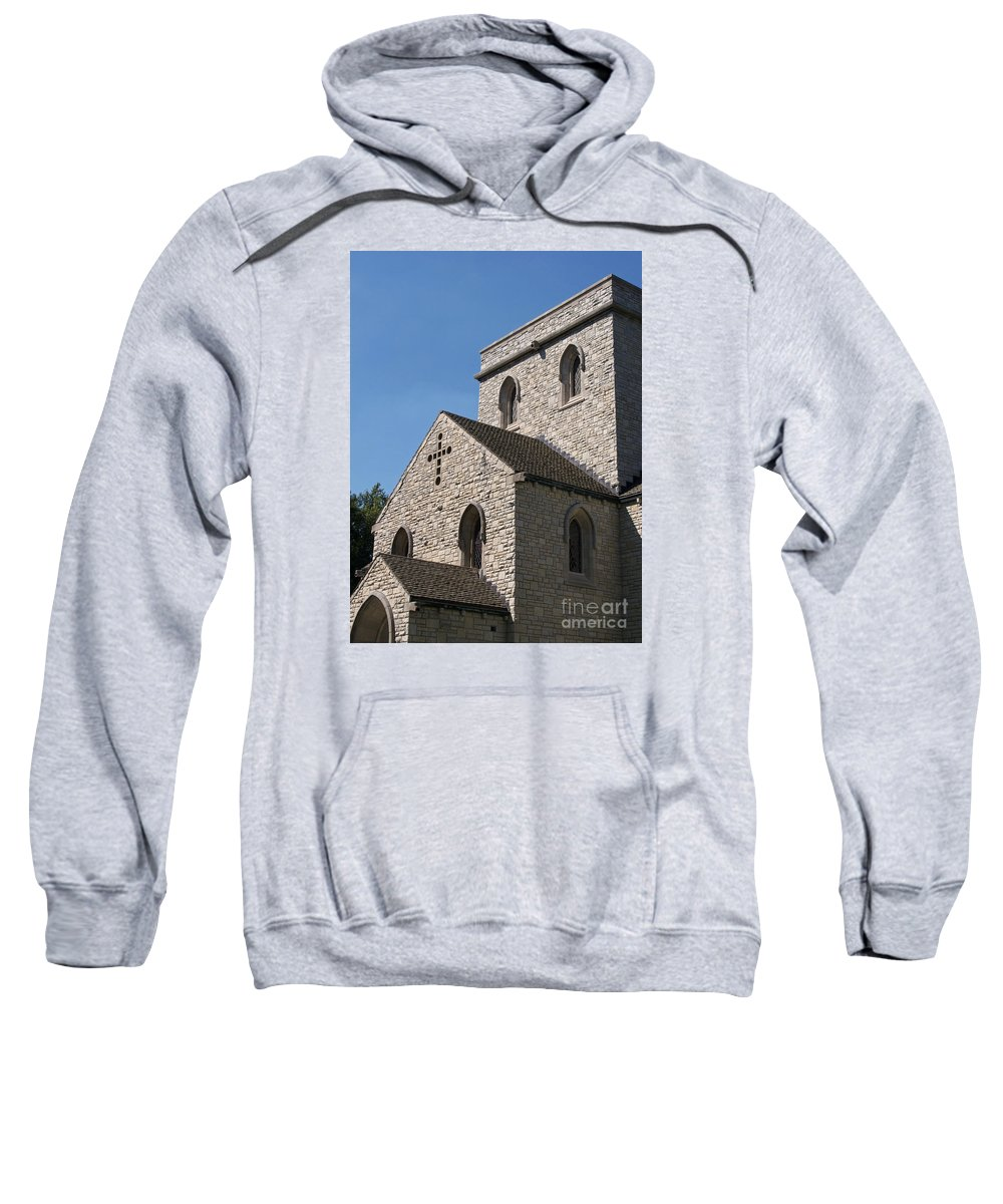 Chapel Sweatshirt featuring the photograph Chapel by Ann Horn