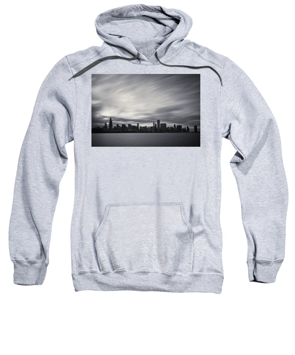 3scape Photos Sweatshirt featuring the photograph Chicago by Adam Romanowicz