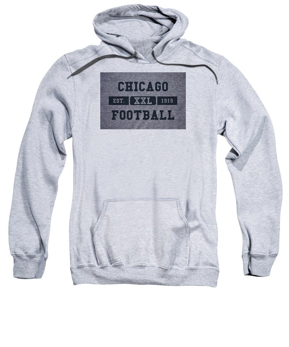 Bears Sweatshirt featuring the photograph Chicago Bears Retro Shirt by Joe Hamilton