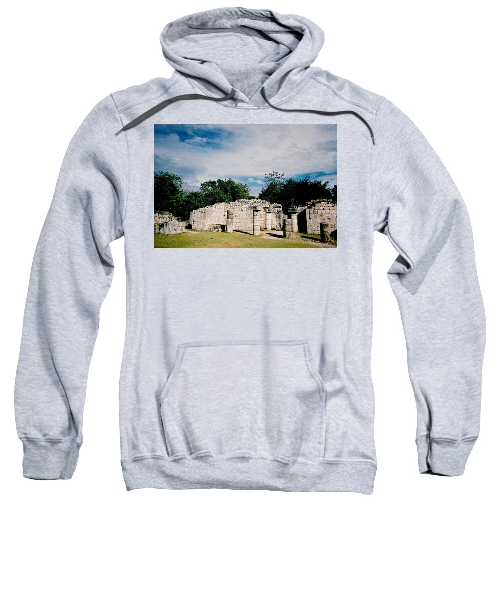 Chitchen Itza Sweatshirt featuring the photograph Chichen Itza 2 by Anita Burgermeister