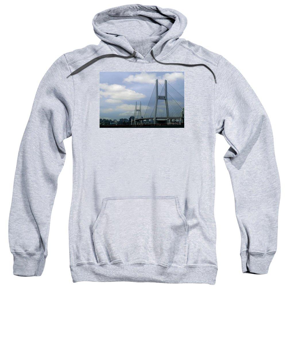 China Sweatshirt featuring the photograph China 25 by Ben Yassa