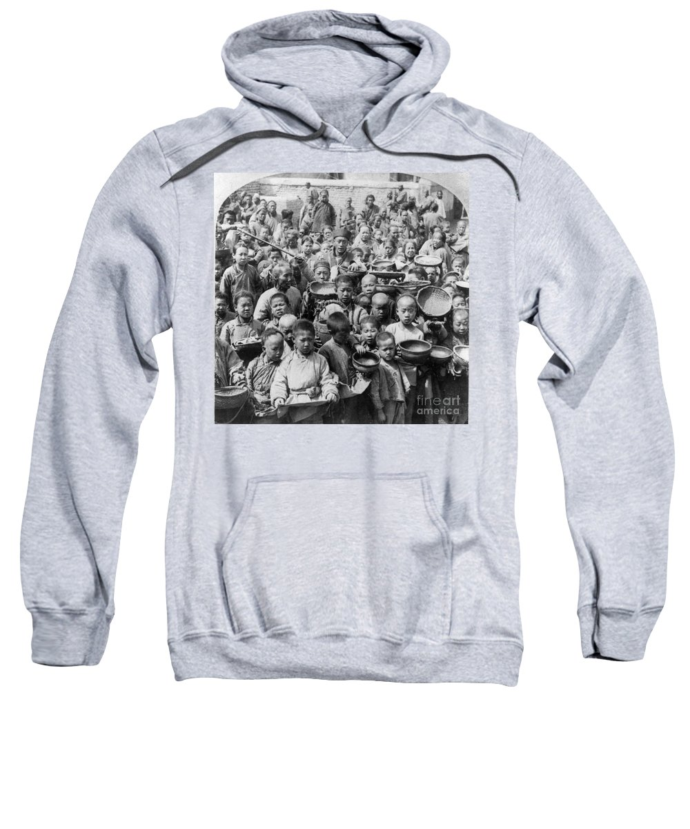 1902 Sweatshirt featuring the photograph China: Peking, C1902 by Granger