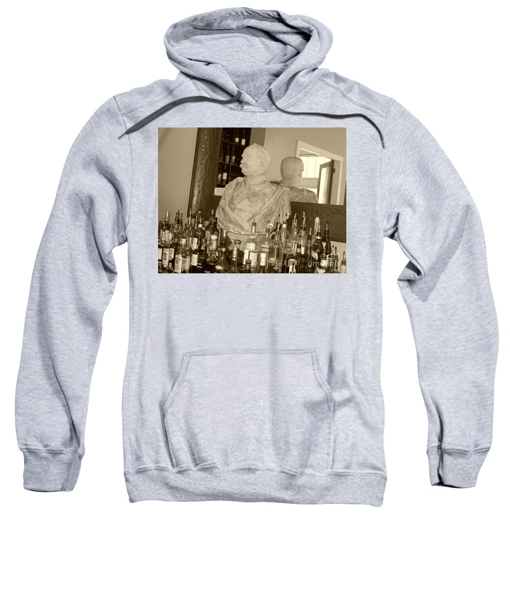 Bust Sweatshirt featuring the photograph Chipped Reflection by Debbi Granruth