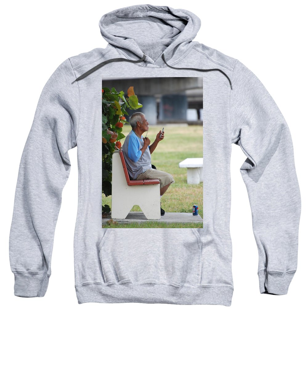 Homeless Sweatshirt featuring the photograph Choice Of A New Generation by Rob Hans