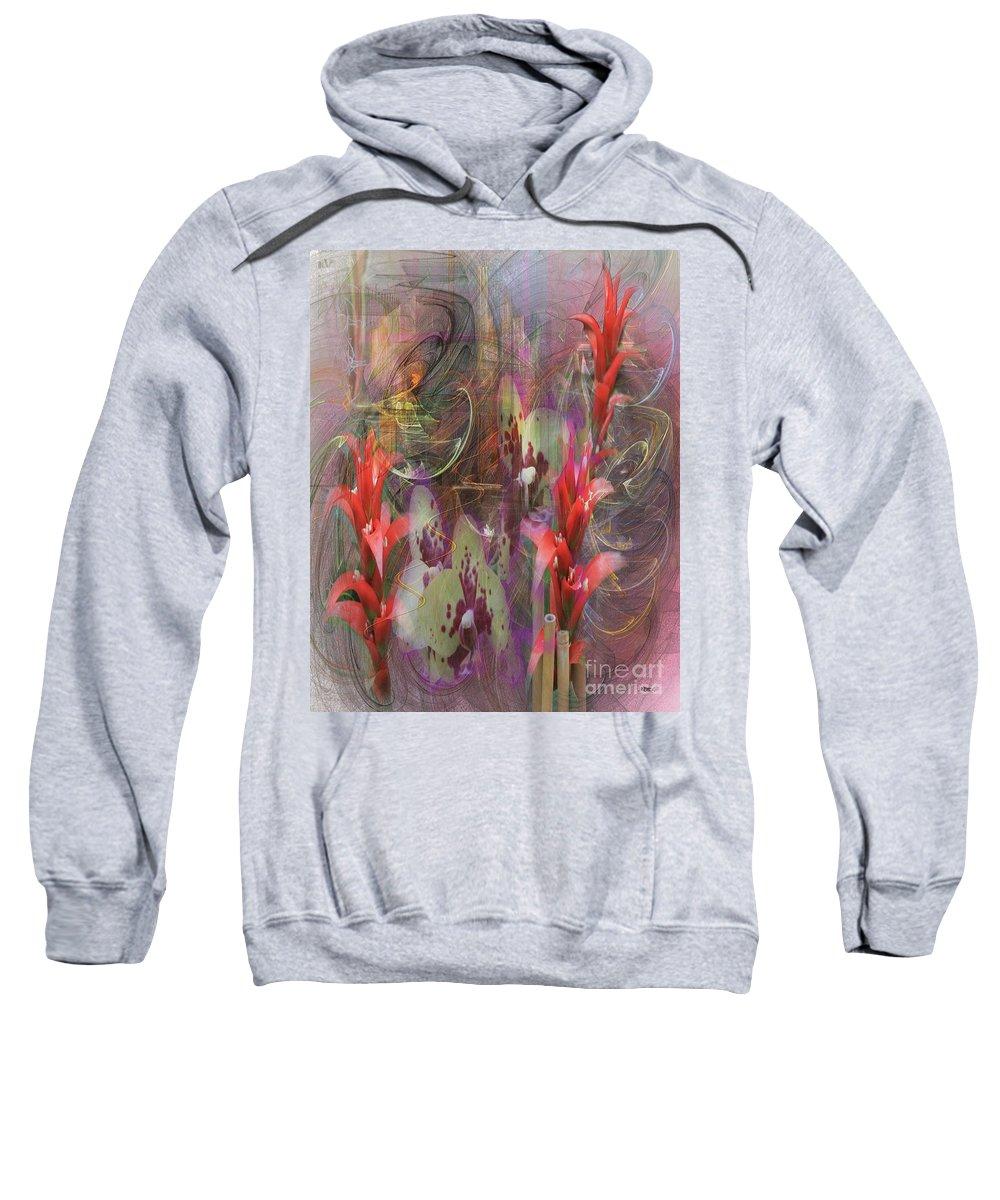Chosen Ones Sweatshirt featuring the digital art Chosen Ones by John Beck