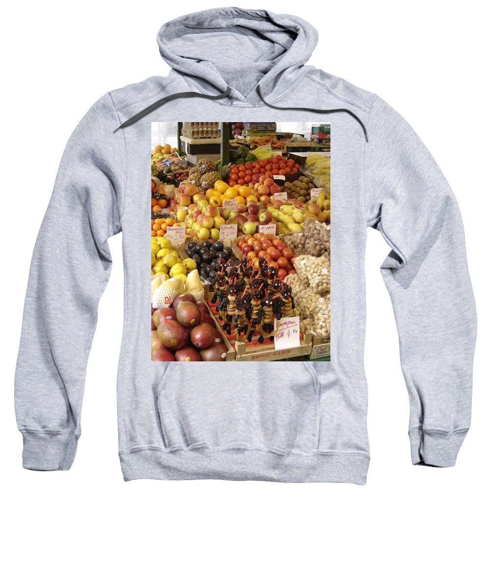 Food Sweatshirt featuring the photograph Christmas Treasures by Mary Rogers