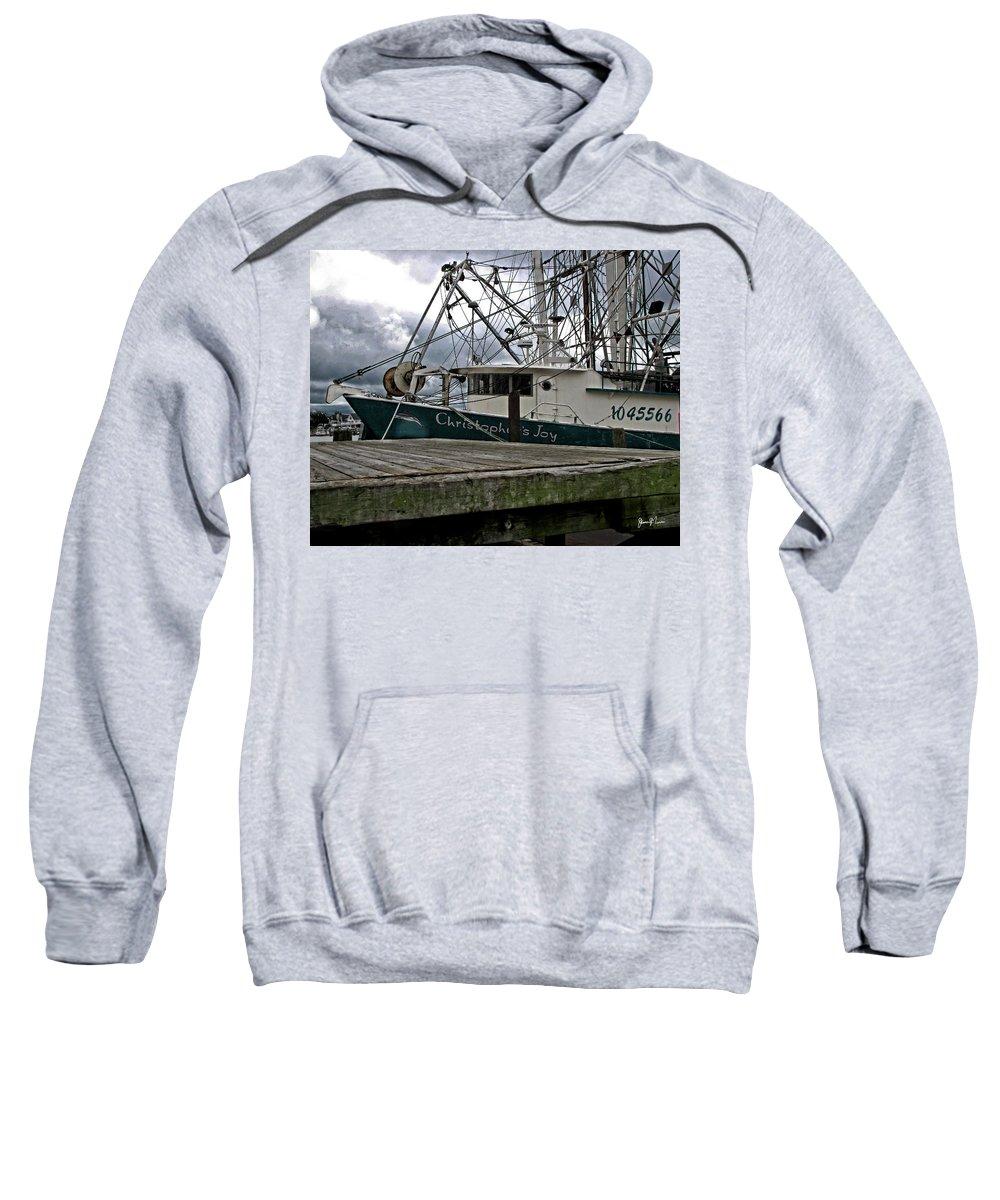 Sweatshirt featuring the photograph Christopher's Joy by Jim Turri
