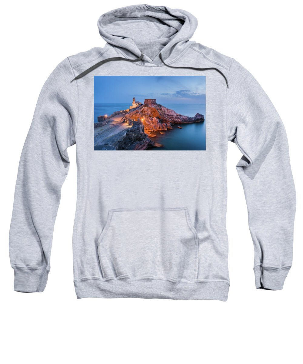 Europe Sweatshirt featuring the photograph Church Of St. Peter by Michael Blanchette