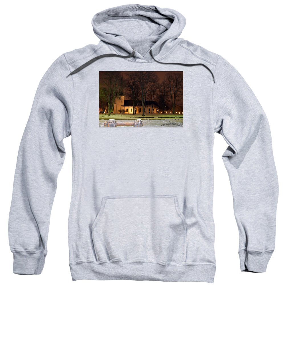 Sweatshirt featuring the photograph Church by Stefan Pettersson