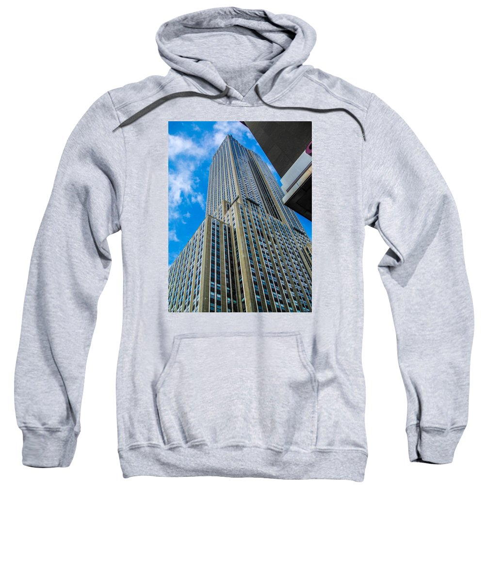 City Sweatshirt featuring the photograph City Tower by Gerald Kloss
