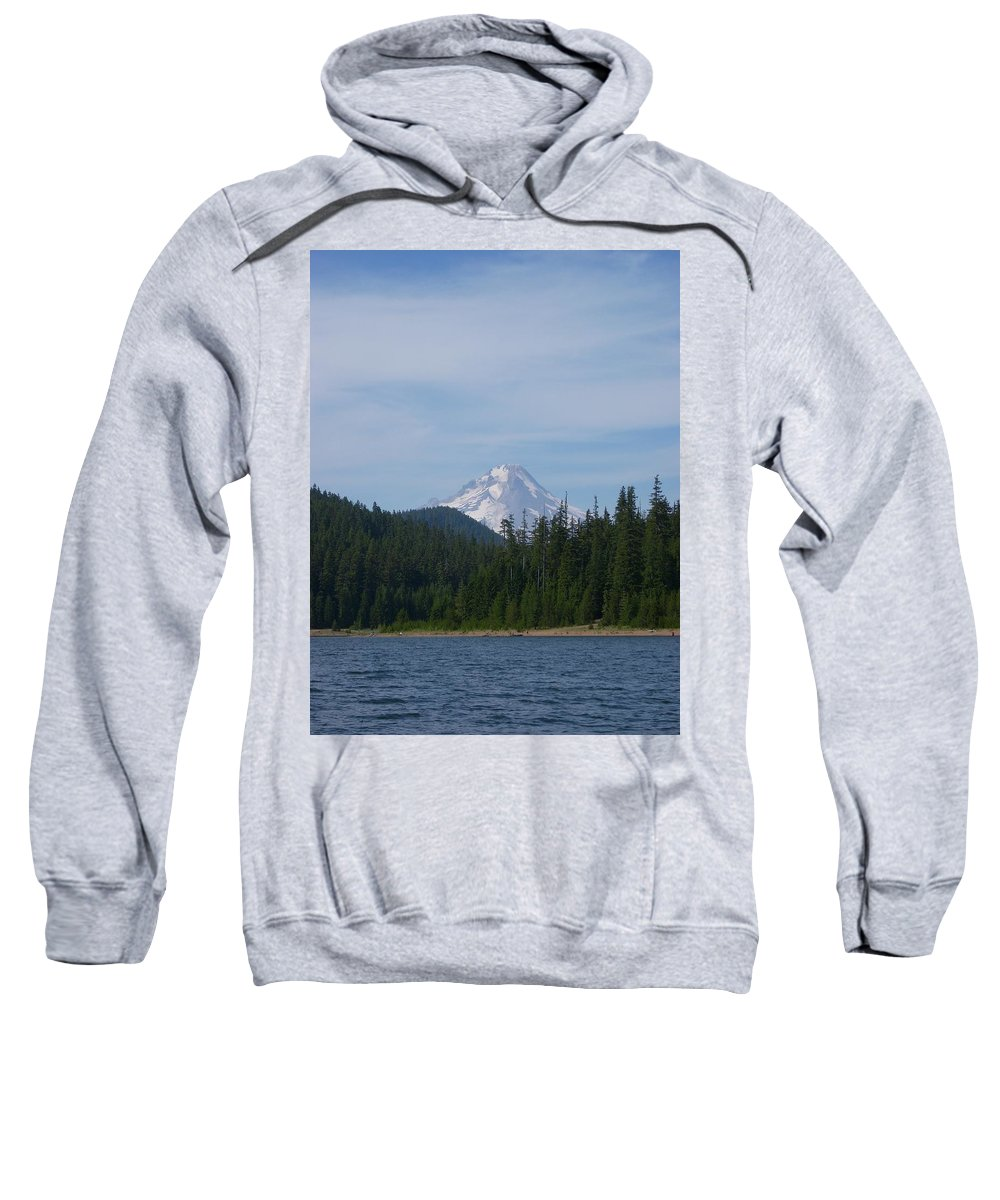 Lake Sweatshirt featuring the photograph Clear Lake by Sara Stevenson