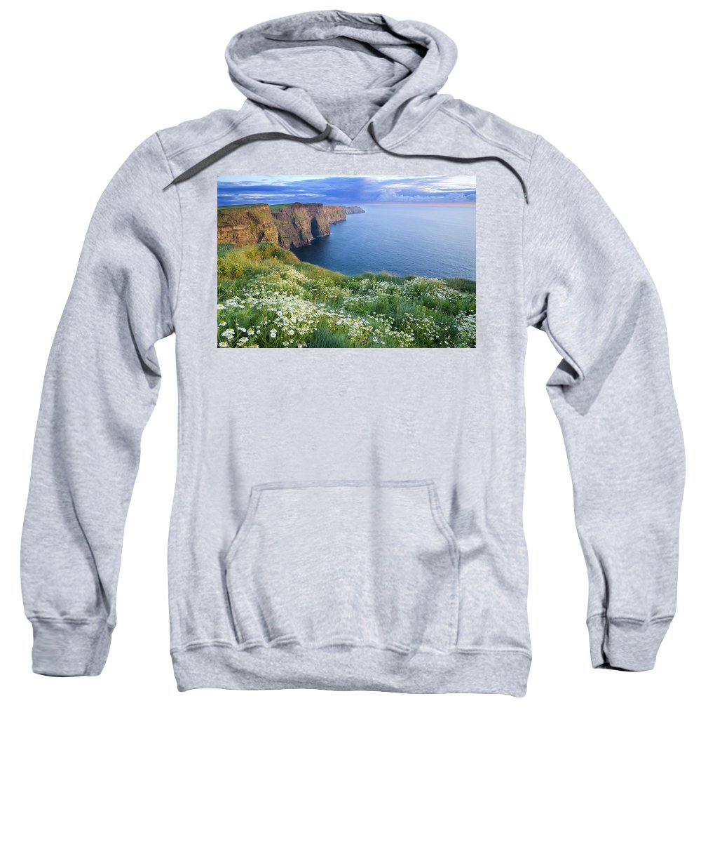Outdoors Sweatshirt featuring the photograph Cliffs Of Moher, Co Clare, Ireland by Gareth McCormack