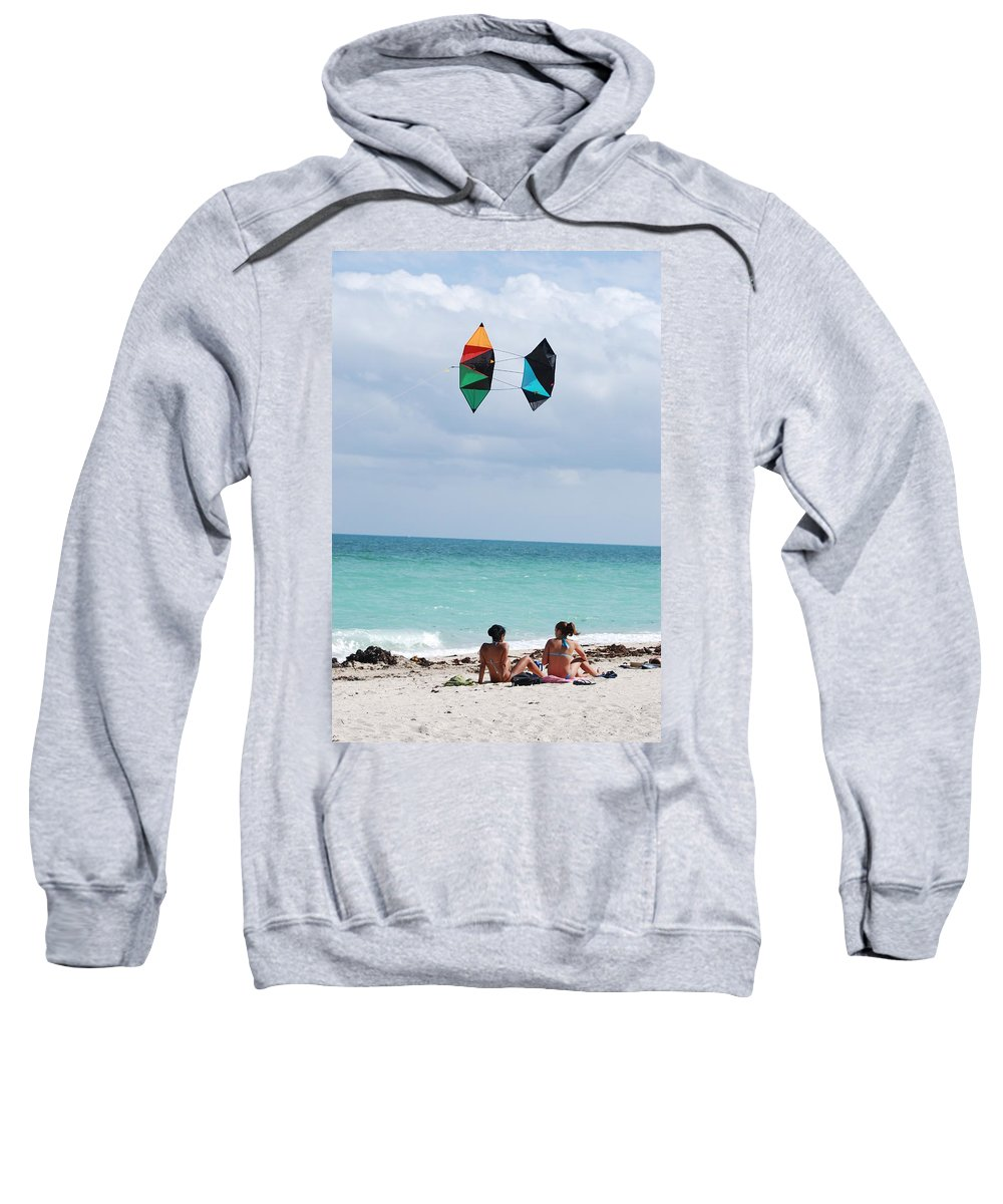 Sea Scape Sweatshirt featuring the photograph Close Encounters by Rob Hans