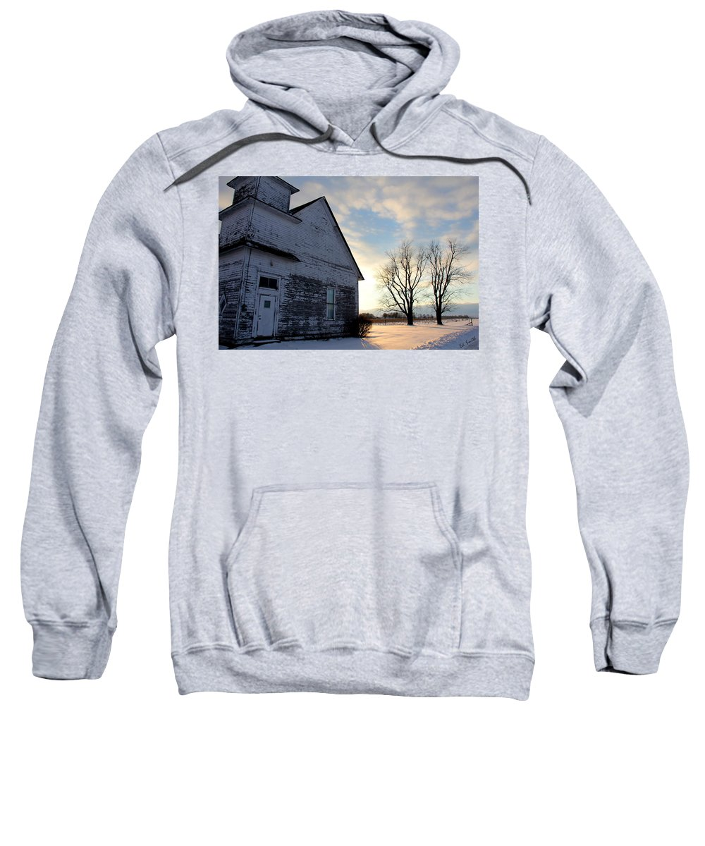 Closed On Sunday Sweatshirt featuring the photograph Closed On Sunday by Ed Smith