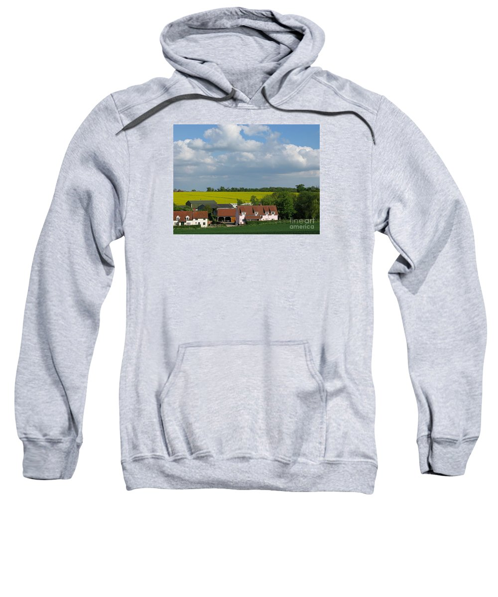 Cloud Sweatshirt featuring the photograph Cloud Cover by Ann Horn
