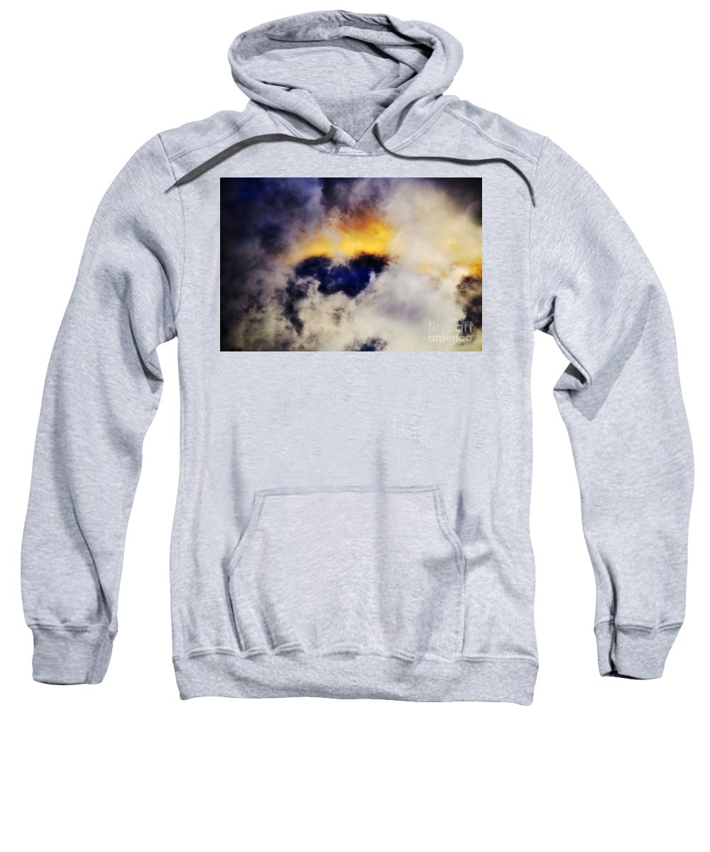 Clay Sweatshirt featuring the photograph Cloud Sculping by Clayton Bruster