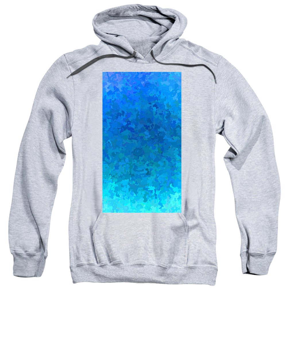 Cloud Sweatshirt featuring the digital art Clouded Thoughts Of You by April Patterson