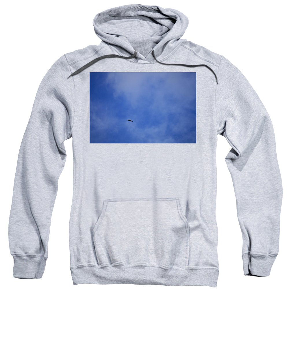 Cloud.sky Sweatshirt featuring the photograph Clouds 2 by Teresa Mucha