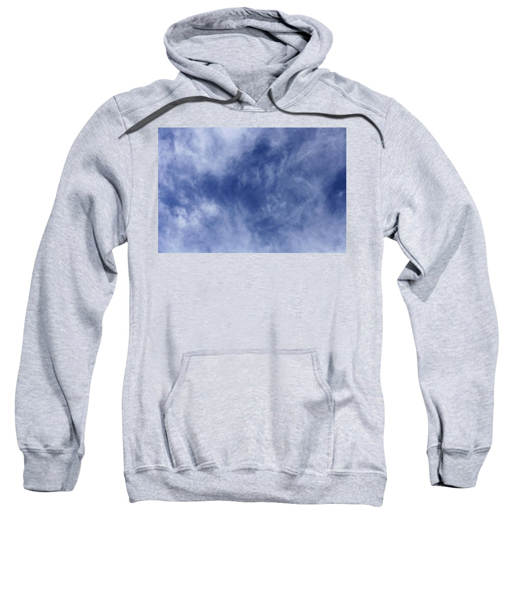 Cloud.sky Sweatshirt featuring the photograph Clouds 4 by Teresa Mucha