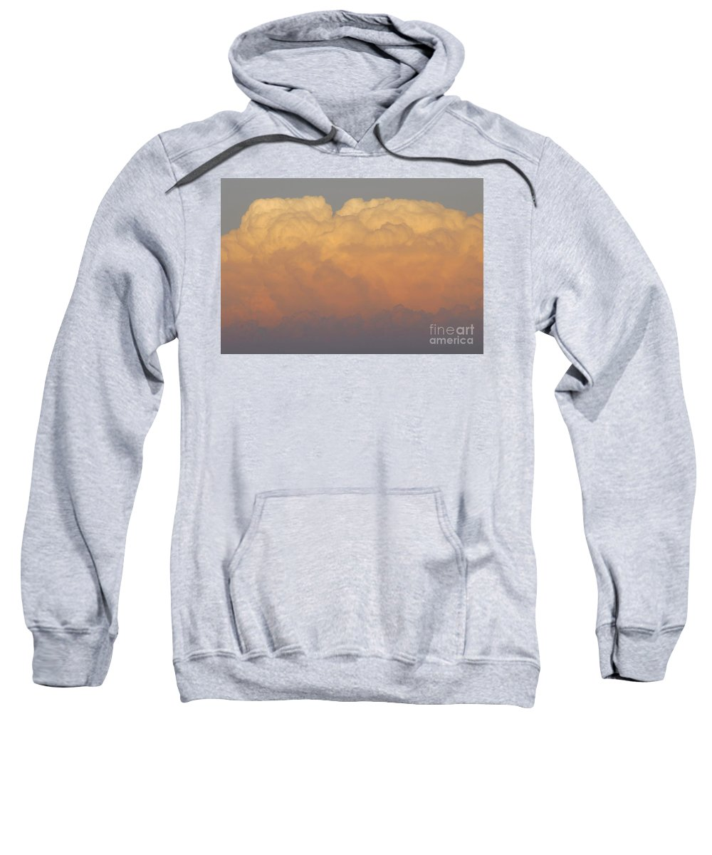 Clouds Sweatshirt featuring the photograph Cloudscape Work Number Six by David Lee Thompson