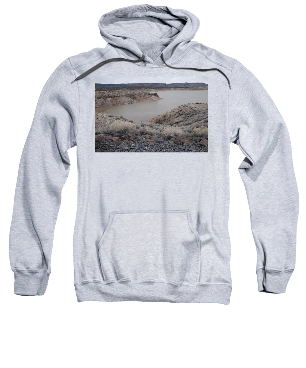 Mountians Sweatshirt featuring the photograph Cochiti Lake by Rob Hans