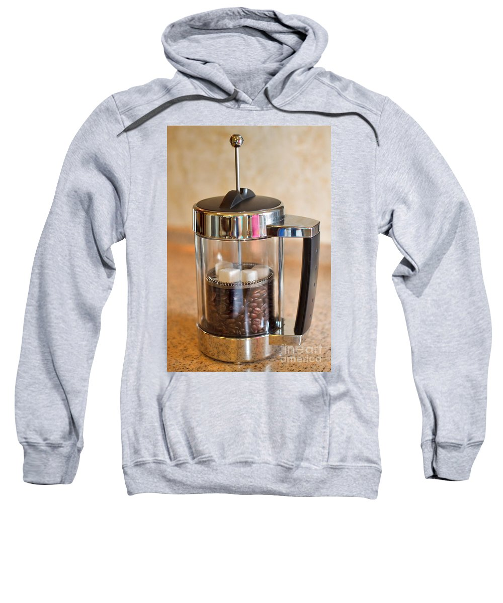 Coffee Sweatshirt featuring the photograph Coffee With Sugar by Louise Heusinkveld