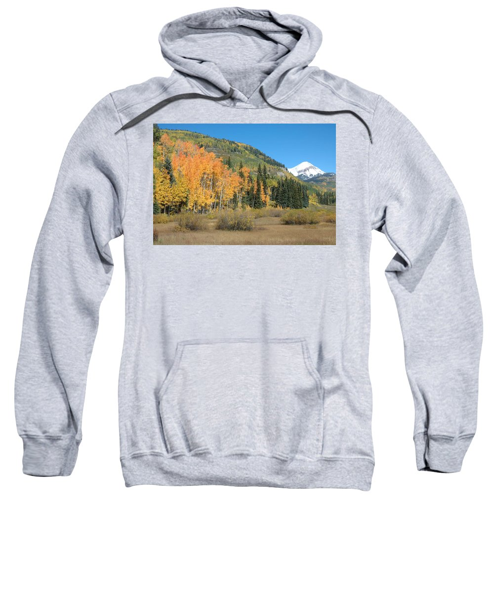 Aspen Sweatshirt featuring the photograph Colorado Gold by Jerry McElroy